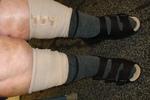 Sandales fermées derrière réglables, forte rétention d'eau