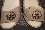 Sandale pour semelles orthopédiques